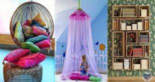 صورة افكار لتزيين غرف النوم يدويه , زيني غرفة نومك بطرق سهلة وبسيطة