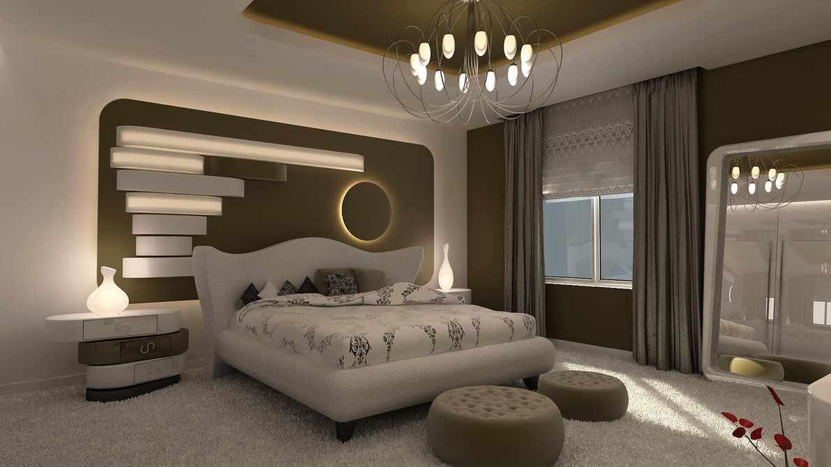 صورة صور ديكورات غرف النوم , افضل غرفه نوم حديثه هو فى كده