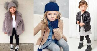 صورة ملابس شتوية بناتي , استيل جميل جدا شتوى لاجمل بنوته محجبه