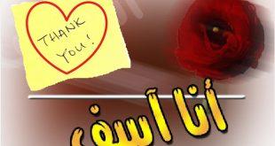 صورة رسائل اعتذار للحبيب مصريه ,الاعتذار ليه فن ف الكلمات