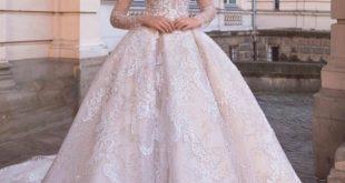 صورة افخم فساتين الزفاف , فساتين رائعة وانيقة ليوم الزفاف