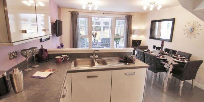 صورة شباك مطبخ مفتوح على الصاله، تصميم نافذه من المطبخ على الصاله