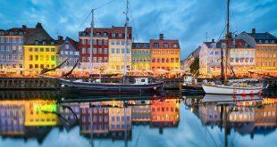 صورة اين تقع كوبنهاجن، موقع مدينة كوبنهاجن