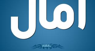 صورة ما معنى اسم امال, معنى جميل جدا لاسمك يامل