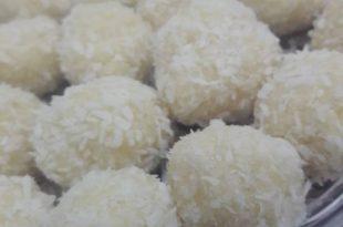 صورة قاطو نواد كوكو بدون طهي ,حلوى جوز الهند الذيذه