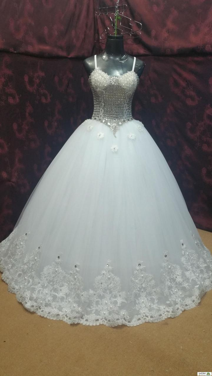 صورة فساتين اعراس يمنيه، اجمل فساتين زفاف لليمنيات