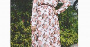 صورة ازياء حوامل محجبات , ملابس رائعه على الموضه للسيدات الحوامل والمحجبات