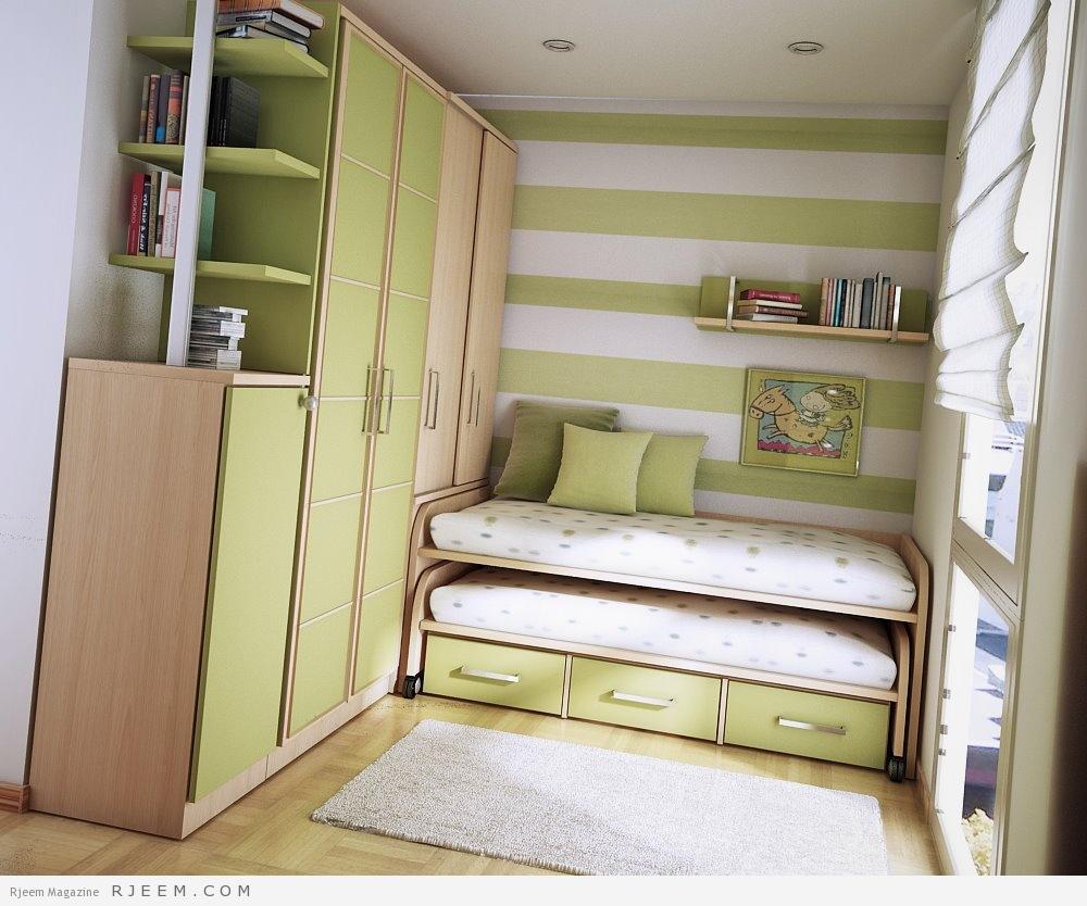 صورة غرف نوم ضيقة ، غرف نوم حديثة تناسب المساحات الضيقة