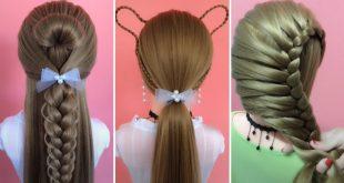 صورة تسريحات الشعر الطويل للبنات , غيري شكلك بتسريحات جميله للشعر الطويل