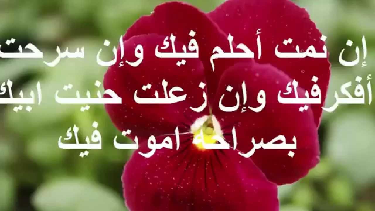 صورة رسائل حلوه للحبيب، اجمل كلمات حب وشوق للحبيب