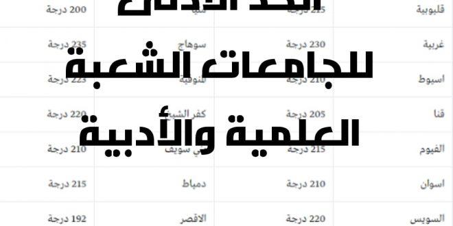 صورة تنسيق ثانوية عامة 2019, بيان هام لكل طلاب الثانويه العامه