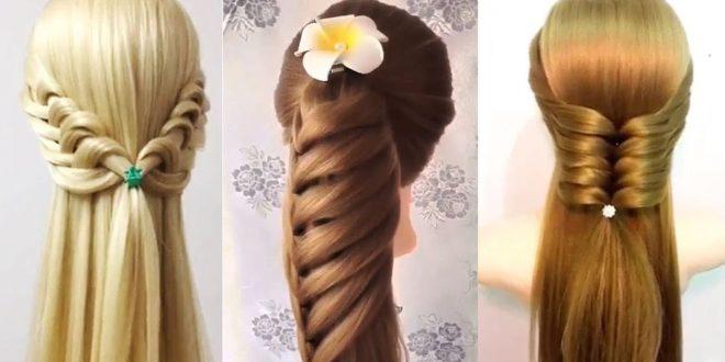 صورة صور تسريحات الشعر الطويل , ضاع همرك ف تسريح شعرك من غير متشوفى الصور دى