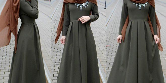 صورة لبس محجبات شيك 2019 ، اجمل لبس للسيدات والفتيات المحجبات