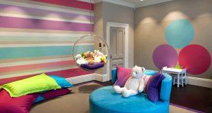صورة دهانات غرف الاطفال، اجمل الوان الدهانات التي تناسب غرف الاطفال
