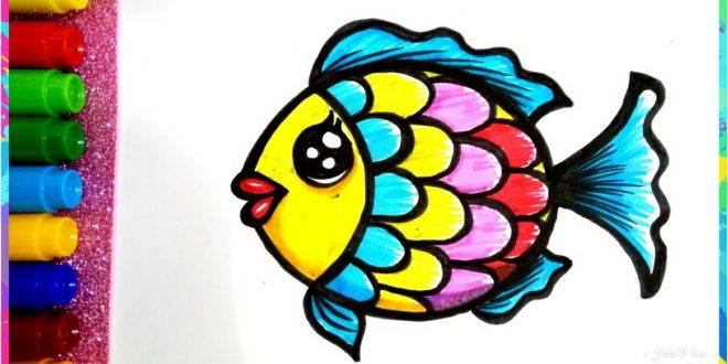 صورة رسم جميل للاطفال، اجمل رسومات الاطفال الصغار