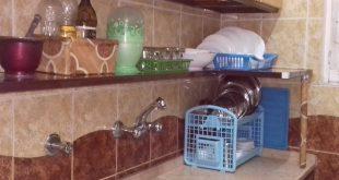 صورة ترتيب المطبخ الضيق ، ازاي اخلي مطبخي الضيق مرتب وجميل
