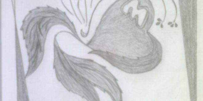 صورة اروع قلوب بالرصاص، رسم قلب بالرصاص