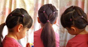صورة واااااو اروع تسريحات البنات الصغيره , تسريحات بنوتات صغار شعر قصير